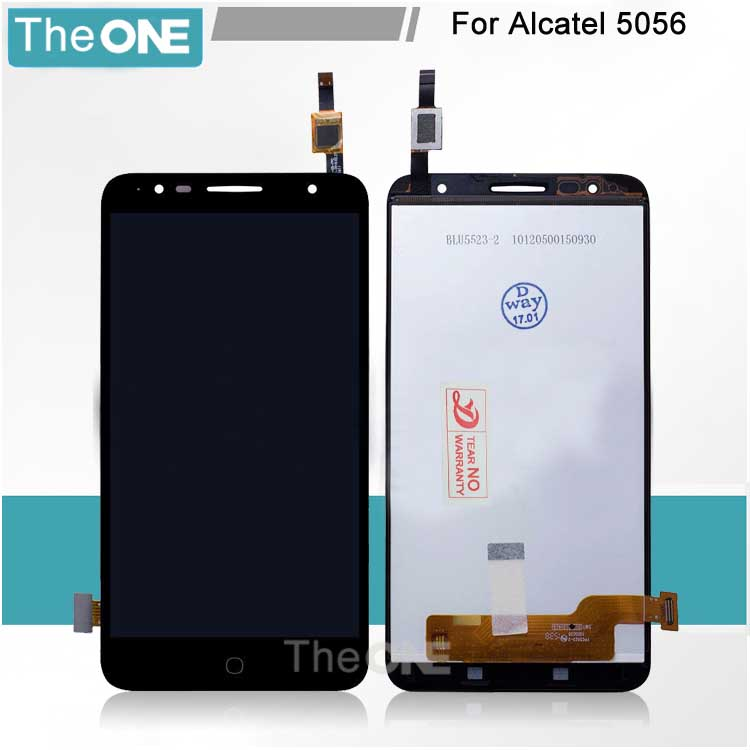 LCD Display + Touch Screen digitizer Assembly 5.5'' For Alcatel one touch Pop4 plus OT5056 5056 5056E 5056T 5056A 5056D Black d a t e кеды pop glitter