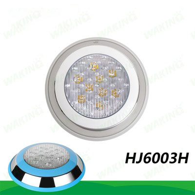 DHL stainless steel Surface Mounted 6w 9W 12W 18W 12v Super Bright Led Rgb Swimming Pool Underwater Light Fountain Pond Lamp