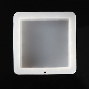 Image 4 - Molde cuadrado de silicona para jabón hecho a mano, molde de jabón de pan blanco, herramientas de fabricación de jabón