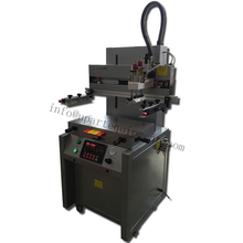 penumatic flat screen printing machine with vacuum worktable for PCB, LCD,EL,IC, SMC