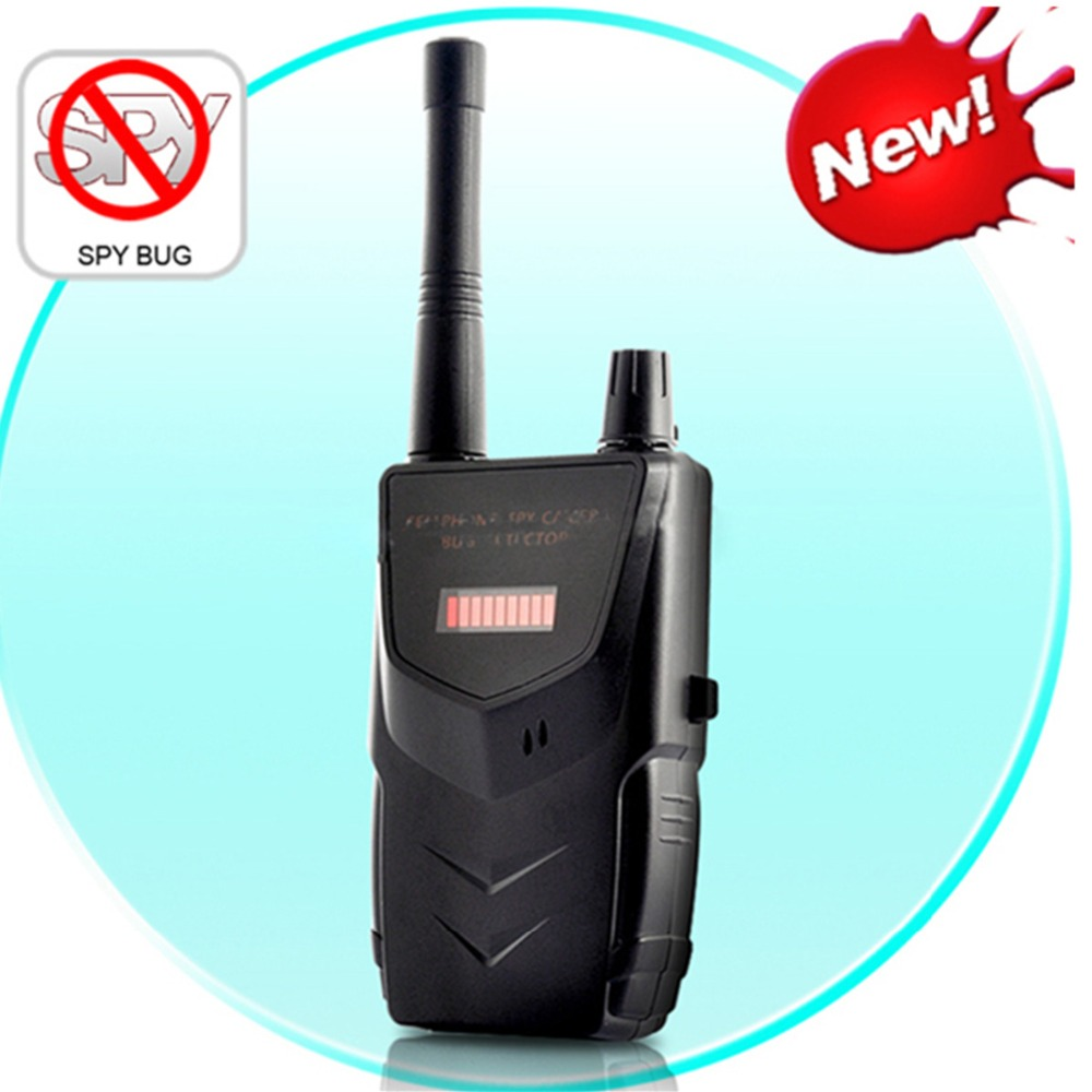 Battery Operated Wireless RF Detector Cell Phone Buster Mobile Phone Wireless Camera Signal Detector Wifi Finder 007B