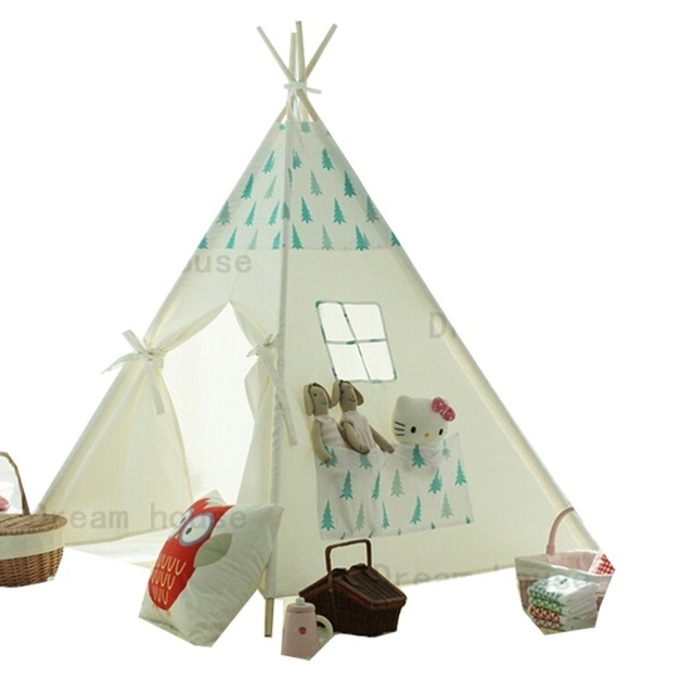 little tree design kids play tent indian teepee children playhouse teepee  sc 1 st  AliExpress.com & little tree design kids play tent indian teepee children playhouse ...