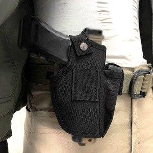 Image 2 - Кобура для пистолета для скрытого ношения, кобура с металлическим зажимом для ремня IWB OWB, кобура для страйкбольного оружия, охотничьи предметы для всех размеров, пистолеты