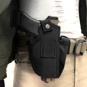 Image 2 - Gun Holster Concealed Carry Holsters Belt Metal Clip IWB OWB Holster Airsoft Gun Bag Hunting Articles For All Sizes Handguns