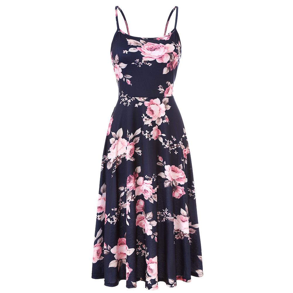 2019 new arrived women fashion ladies dresses for summer day 2143
