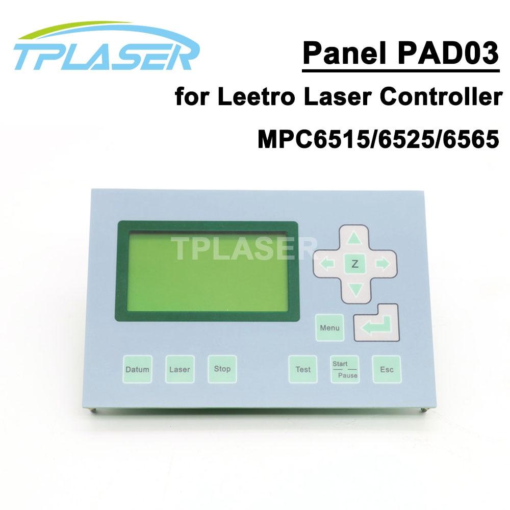 Co2 Laser di Controllo Pannello di Controllo PAD03 per DSP di Controllo Laser Leetro MPC6525Co2 Laser di Controllo Pannello di Controllo PAD03 per DSP di Controllo Laser Leetro MPC6525