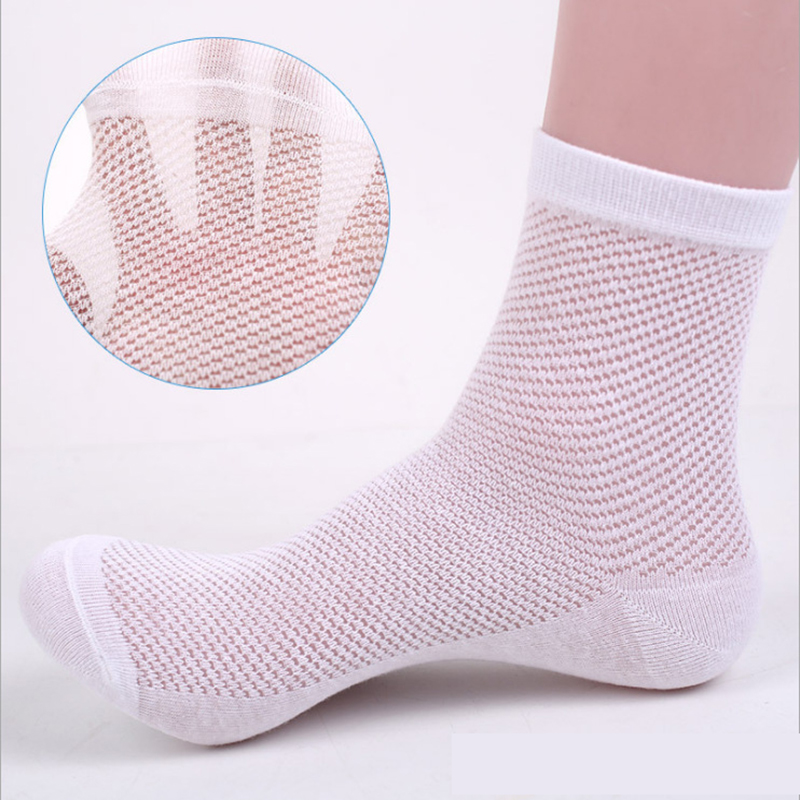 6pair/lot New Arrival Men Socks Casual Summer Style Breathable Brand Breathable Socks High Quality Male Mesh Socks Wholesale