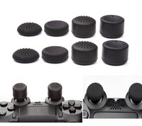 8pcs/Lot Enhanced Silicone Analog Controller Thumb Stick Grip Cap Skin Cover for Sony PlayStation 4 PS4 Controller PS4 Slim PRO
