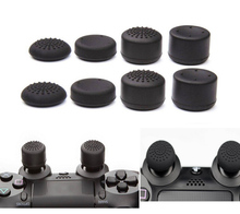 8pcs/Lot Enhanced Silicone Analog Controller Thumb Stick Grip Cap Pores and skin Cowl for Sony PlayStation four PS4 Controller PS4 Slim PRO