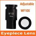 WF10X 18 мм образовательный Регулируемый зум биологический 10 раз окуляр объектив для бимикроскопа микроскоп монтажный размер 23 2 мм