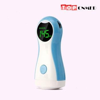 Fetal doppler bebek izleme monitörü lcd ekran Taşınabilir Bebek nabız monitörü Ile Kulaklık