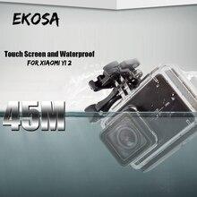 For Xiaomi Yi 4K Action Camera Accessories Kits Set Waterproof Housings Touch Screen Case Hard Bag Surfing For Yi Xiaomi 2 4 K
