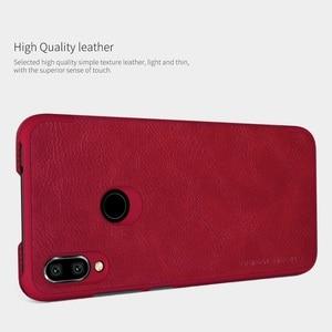 Image 2 - Redmi Note 7 etui 6.3 cala NILLKIN Vintage Qin odwróć portfel PU skóra PC powrót etui na xiaomi Redmi Note 7 Pro etui 7S