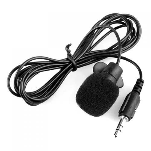 Titular de Clip de Corbata 6mm Mini Micr/ófonos Externos de Solapa
