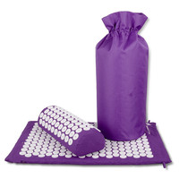 Acupressure Mat Pillow For Back Neck Pain Relief Massage Cushion Pillow With Acupuncture Health Care With