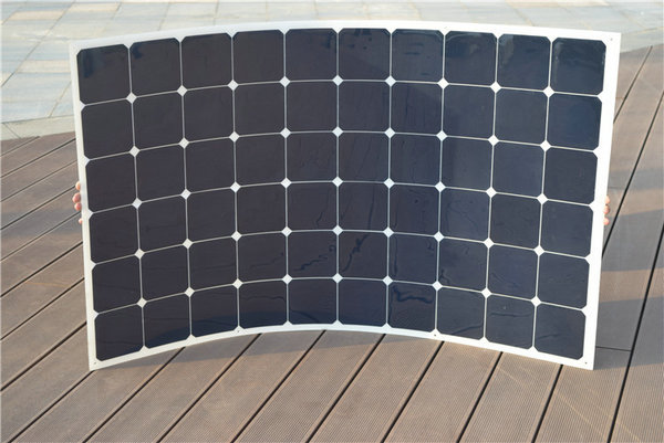Boguang 180w flexible solar panel cell module solar charger mc4  connector for solar system 12v battery car RV yacht home charge 200w 2x100w mono flexible solar panel solar module energy roof camper rv yacht solar generators