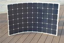 Boguang 180 Вт гибкие солнечные панели солнечных батарей Модуль Солнечное зарядное устройство mc4 разъем для молнечной батареи 12 В аккумулятора автомобиля RV