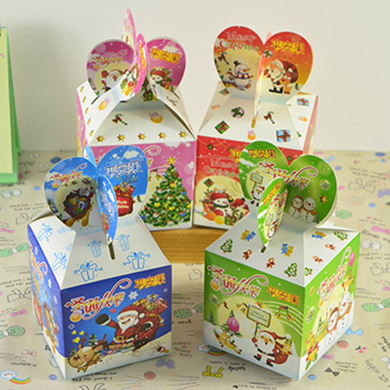 30 stücke Frohe Weihnachten Papier Geschenk Box Cookie Cholocate ...