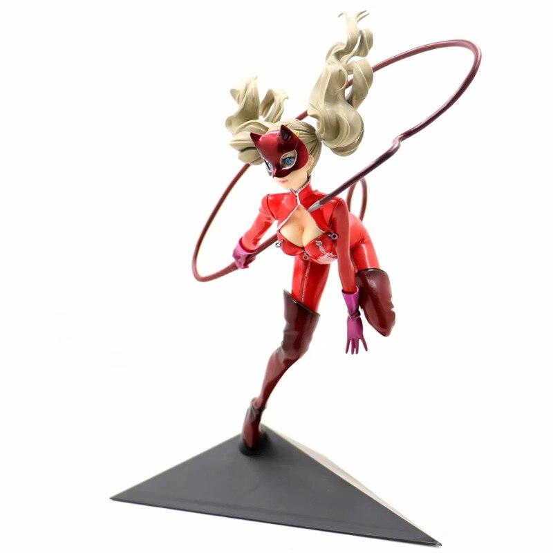 1/7 Échelle Peint Persona 5 Figurine d'anime P5 Anne Takamaki-e Panthère Blâmer Ver Modèle Sexy PVC Décoration Jouet Brinquedos 25 cm