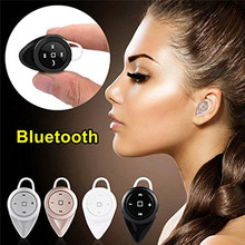 Mini Bluetooth V4.1 ear hook Earphone with Mic Wireless Headset Music Earbud  Noise Canceling for Iphone,Xiaomi,Samsung
