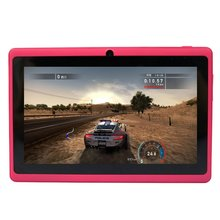 Yuntab 7 inch Android4.4 T7 tablet pc Allwinner A33 Quad Core 1.5 GHz bluetooth Tablet PC con Cámara Dual 2200 mAh de la batería