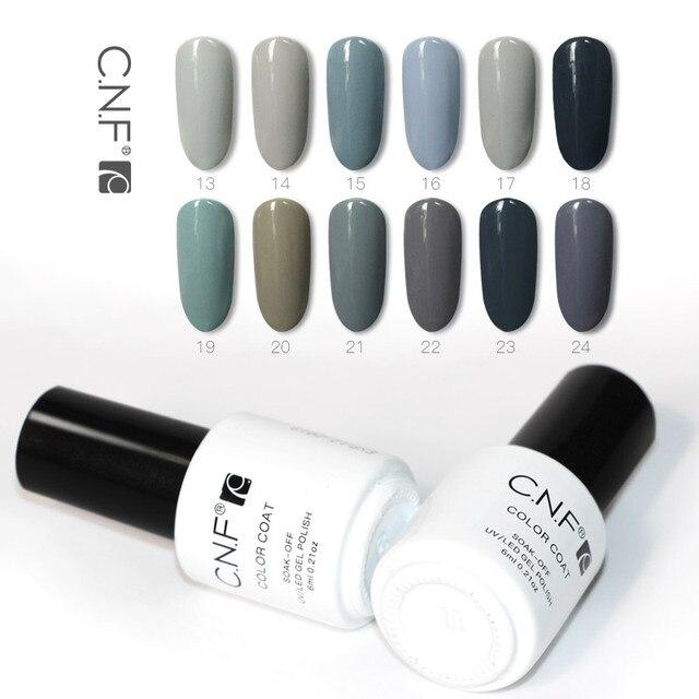 C N F Gel Nail Polish 6ml Professional Nails Uv Varnish Manicure Diy Color Cnf