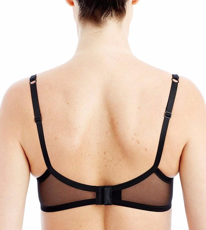 a4edeae2ae Victoria s Masquerade Women s Sheer Mesh Panels Bra Ultra Thin Full ...