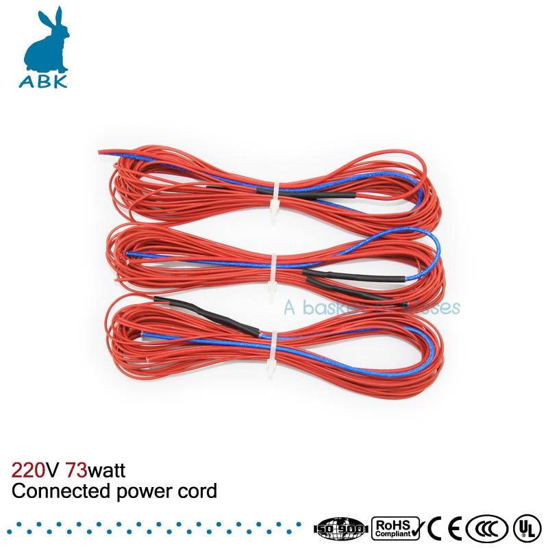 Fios Elétricos custo do fio de aquecimento Comprimento : 10 Meters Per Paragraph
