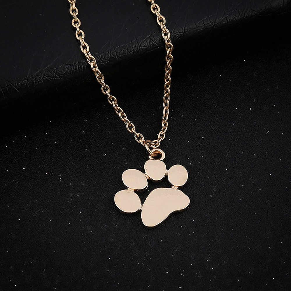 Fashion Pendant Necklace Women Necklaces Vintage Dog Chain Necklace Jewelry Choker Pendant Couple Collares De Moda 2019 GD L0619
