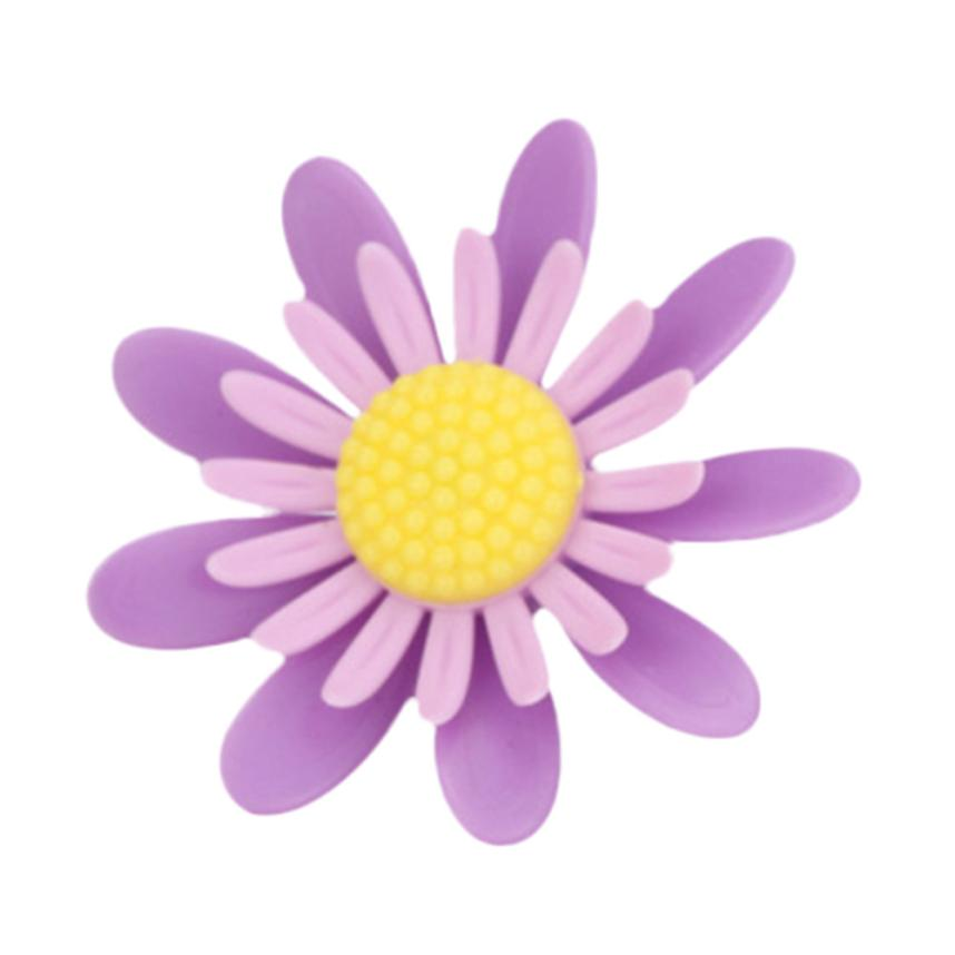 Kongyide 2Pcs Car Multiflora Flower Air Outlet Fragrant Perfume Clip Rotate Freshener Diffuser Apr13 Drop Shipping