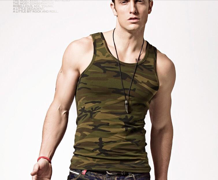 5f5c46bae28 Hip Hop Camo Tee Men Tank Tops Camouflage T Shirts Drake JB Women ...