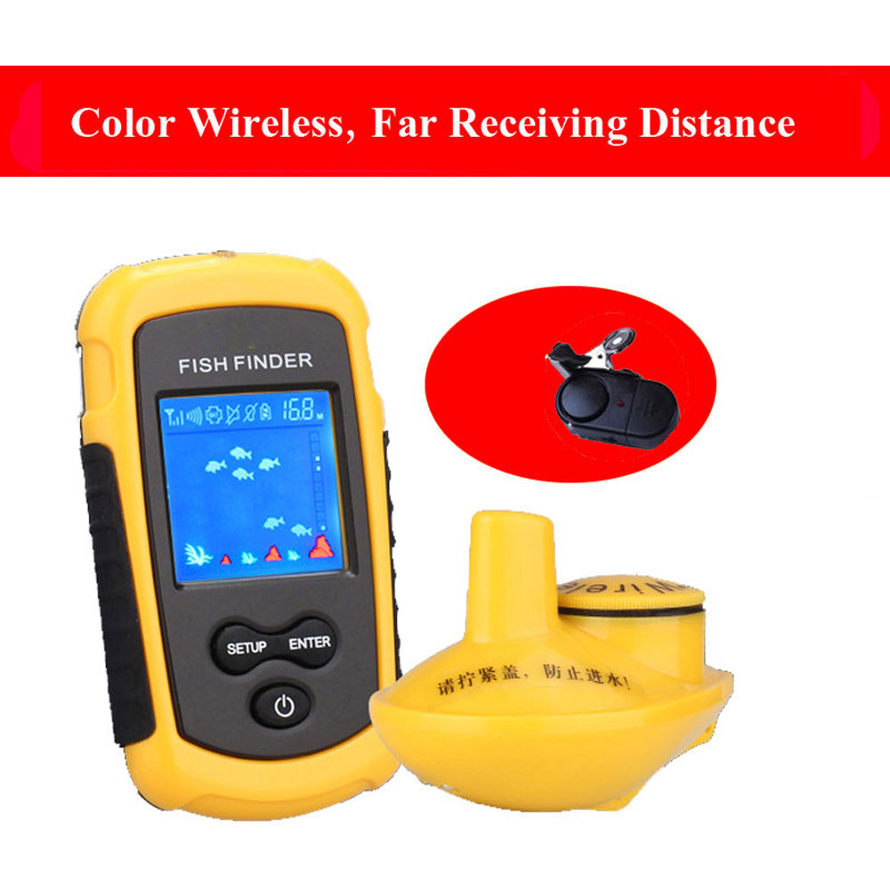 sounders for fishing portable fish finder Wireless fishing sensor ...