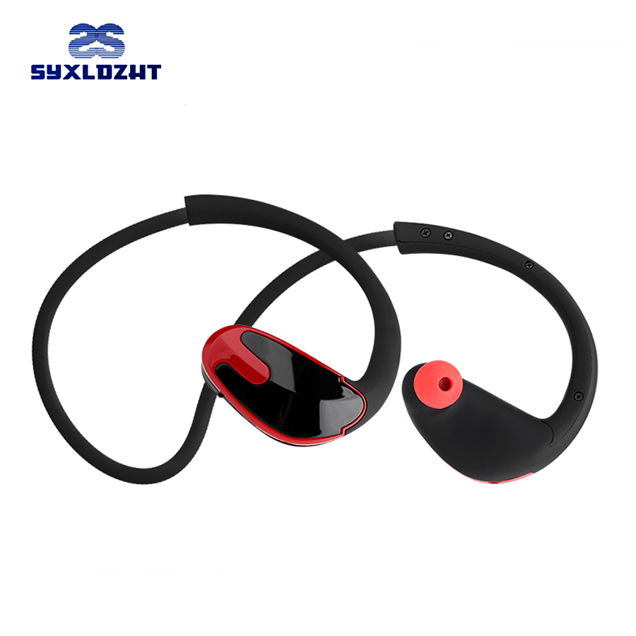SYXLDZHT Super Bass Neckband wireless Bluetooth Earphone Headphones IPX5 Waterproof Sport Bluetooth Headset With Mic For Phone
