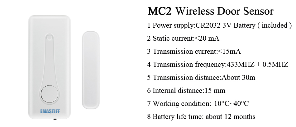 Free Shipping!IOS Android APP Control Wireless Home Security GSM Alarm System Intercom Remote Control Autodial Siren Sensor Kit 20