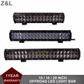 15 17 20 Inch Offroad LED Work Light Bar Combo Auto Car SUV Trailer Wagon 4WD AWD 4X4 ATV Camper Boat Truck 12V 24V Driving Lamp