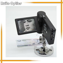 Wholesale prices Portable 5.0MP 300x USB 2.0 Electronic Digital Stereo Microscope with 3.5 inch LCD Display Digital Magnifier