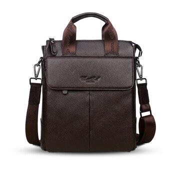 CHEER SOUL Mannen Aktetassen Echt Lederen heren Tas Zakelijke Laptop Aktetassen Handtassen Messenger Bag Mannen Lederen Schoudertassen