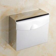Бумаги ванная коробки ткани водонепроницаемый нержавеющая сталь 304 туалетная бумага держатель для туалетной бумаги ванной