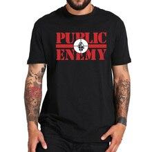 Public Enemy T Shirt Hip Hop Group EU Size 100% Cotton Tops