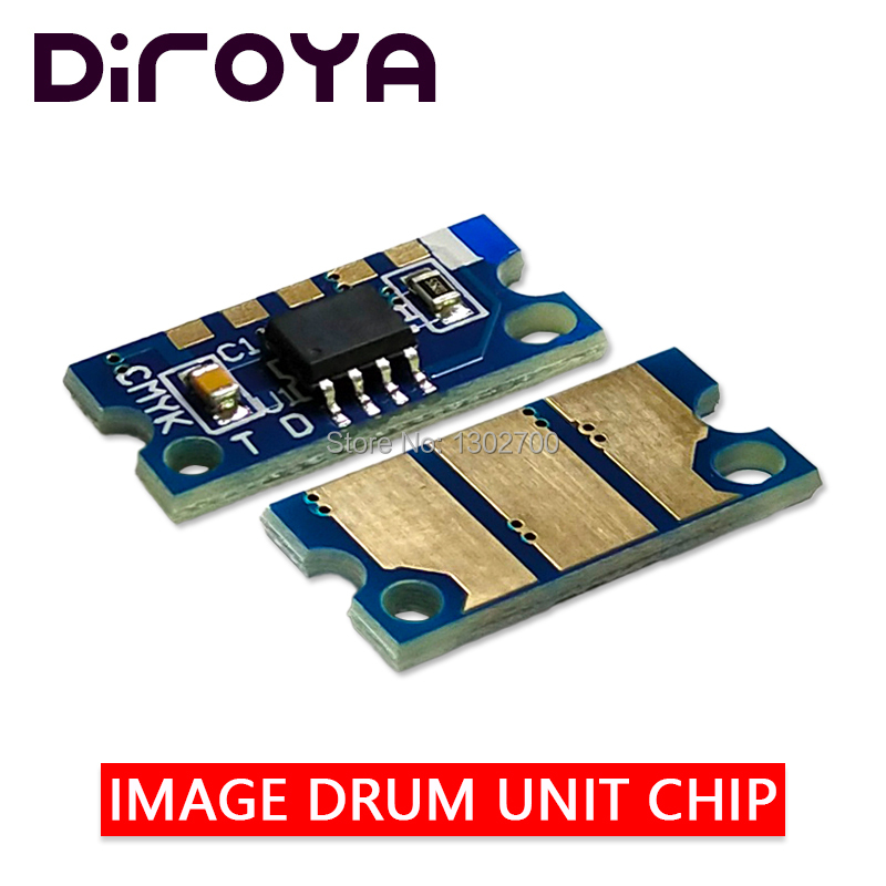 4 x Drum Chip for Konica Minolta MagiColor 4750 4750dn 4750en 4790 4795 IUP12
