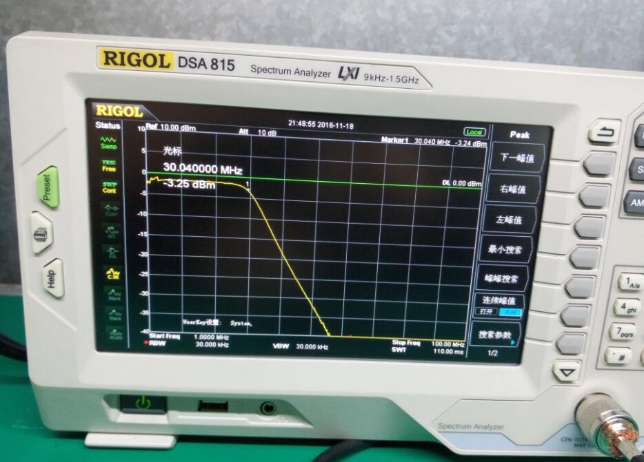 Filtro de paso bajo para salida de amplificador HF SSB 1000 W 1KW 30 MHZ SWR - 2