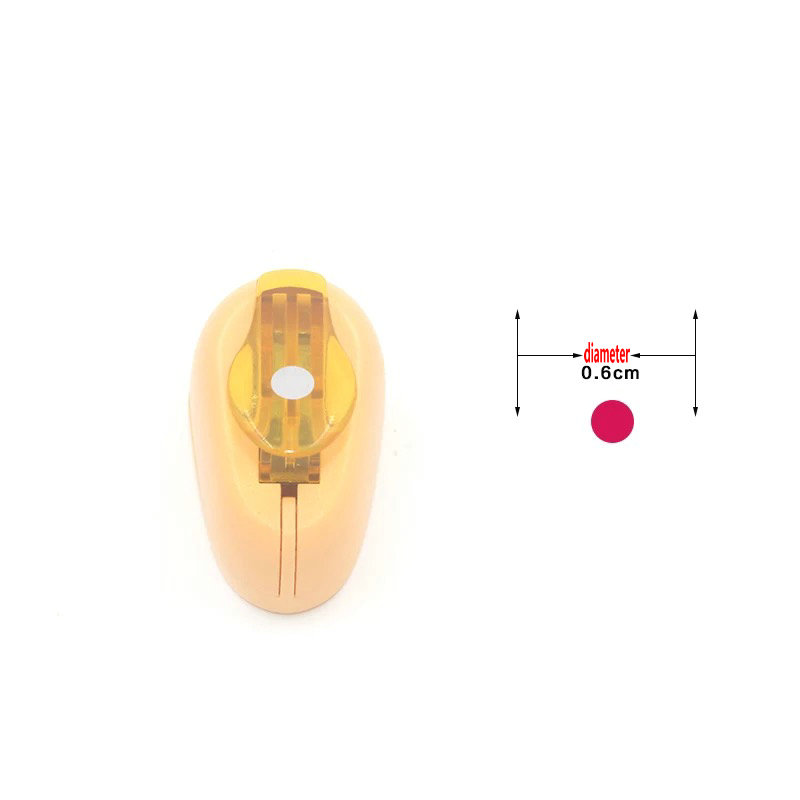 Circle punch 0.6cm diy craft hole puncher for scrapbooking ...