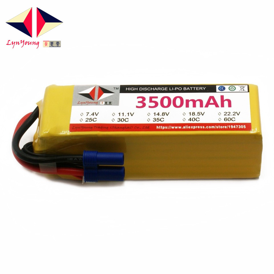LYNYOUNG 5S rc lipo battery 18.5V 3500mah 35C max 70C for UAV plane Boat Car Helicopter DroneLYNYOUNG 5S rc lipo battery 18.5V 3500mah 35C max 70C for UAV plane Boat Car Helicopter Drone