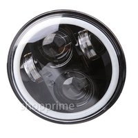 5.75 LED Headlight High/Low Beam 5 3/4' LED Headlamp Driving Light for Motorcycle Projector Headlights