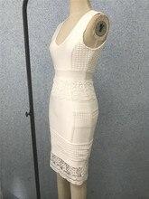 Tanks Sleeveless V Neck Bandage Dress