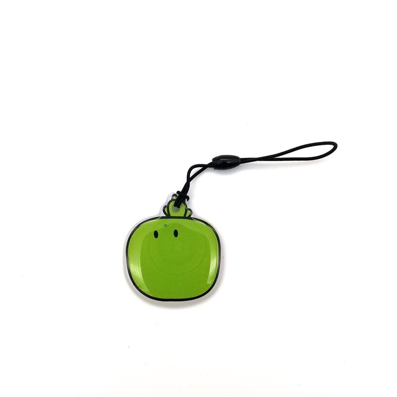 1Pcs 125KHZ RFID T5577 Rewritable Keyfob Blank Card Token Key Tag Fob Ring Chain Smart Badge Keychain For RFID Copier Duplicator