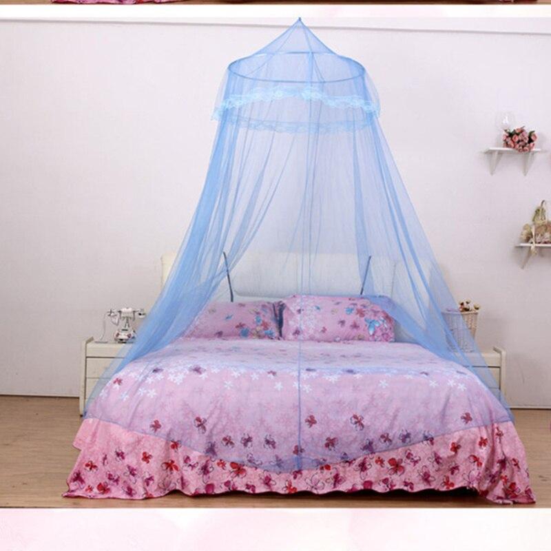 6 Farben Elgant Baldachin Moskito Net Fur Doppel Bett Muckenschutz