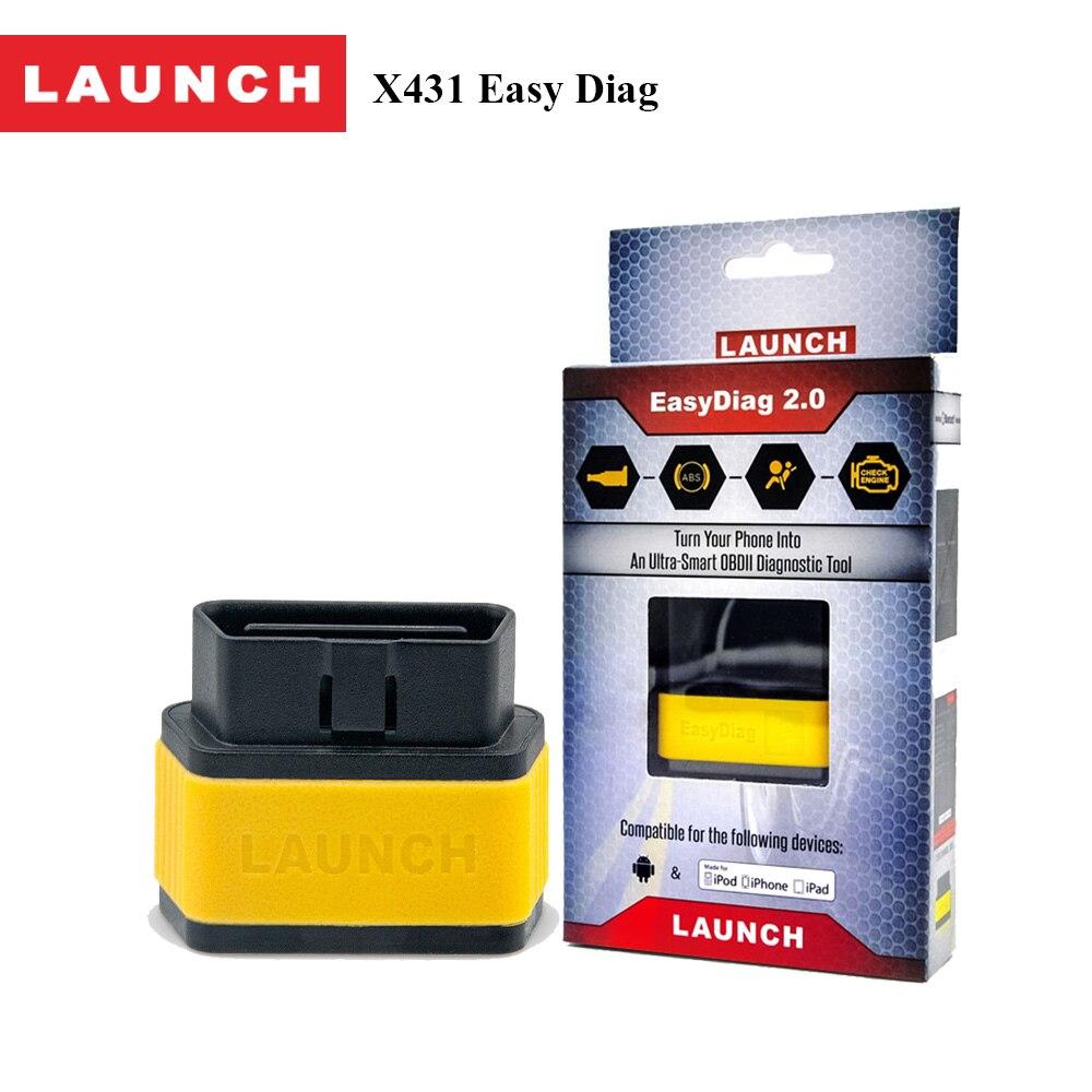 imágenes para Lanzamiento Automotive Obdii Code Reader Easydiag 2.0 plus Bluetooth Instrumento Escáner de Diagnóstico para el Motor, ABS, SRS, transmisión