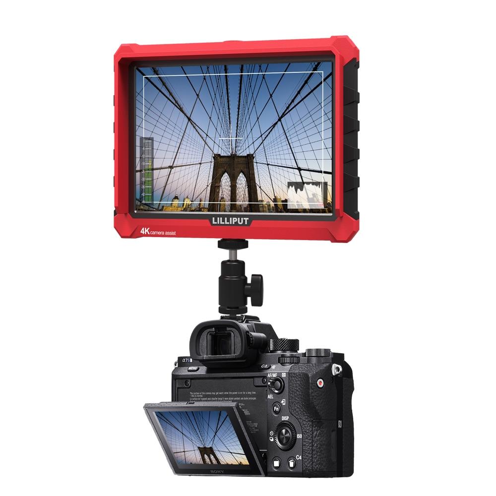 Lilliput A7S 7 Pollice Utra Sottile IPS Full HD 1920x1200 4 K HDMI On-videocamera Monitor di riferimento per Canon Nikon Sony DSLR Camera Video