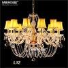Luxury Crystal Chandelier Lighting Modern LED Glass Chandeliers For Living Room Kitchen Lustres De Sala De